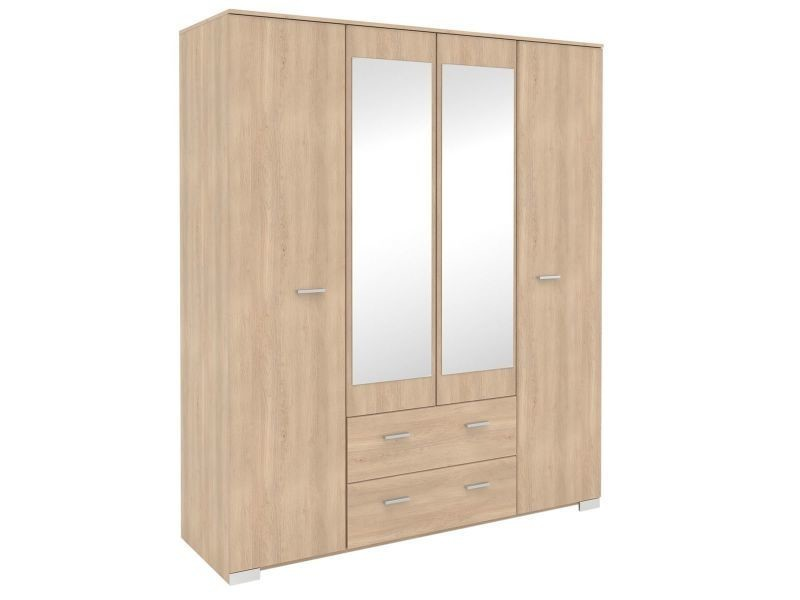 armoire conforama 4 portes trainingsstalmaikewiebelitz. Black Bedroom Furniture Sets. Home Design Ideas