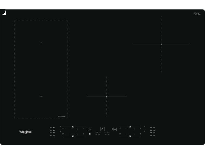 Whirlpool wl b2977 ne plaque noir intégré (placement) 77 cm plaque sans zone à induction 4 zone(s)