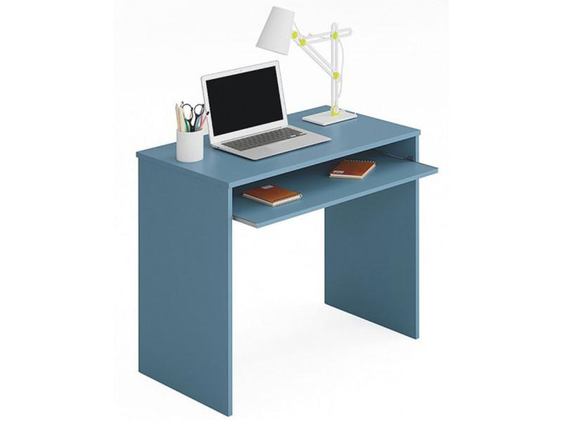 Table bureau pour ordinateur coloris bleu dim cm