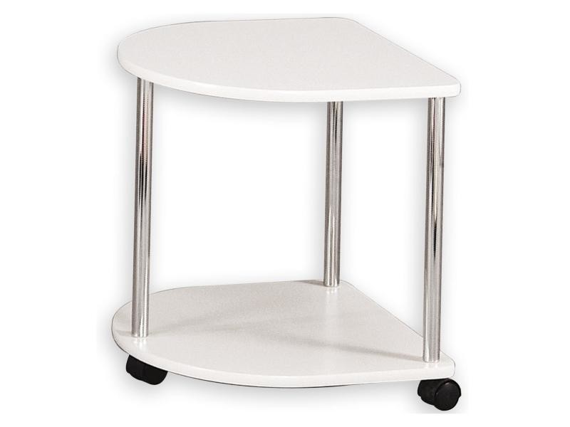 Sellette gu ridon table d 39 appoint laqu blanc vente de - Conforama table d appoint ...