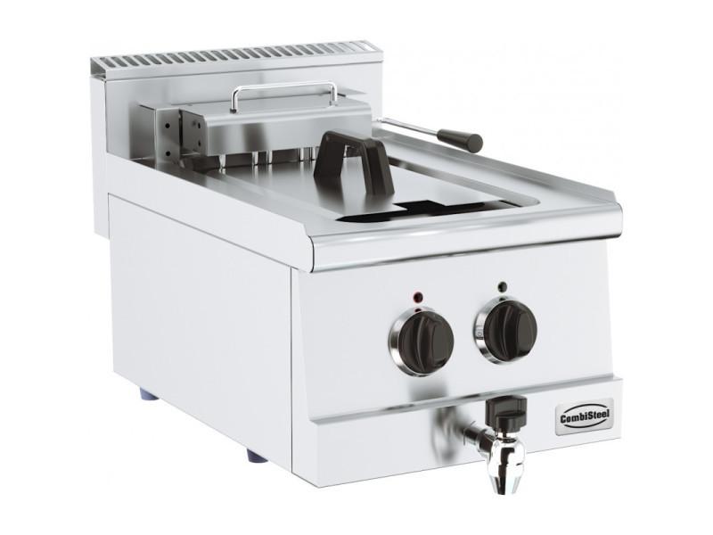 Friteuse professionnelle electrique 10 ou 20 litres - série 600 - combisteel - 400x600