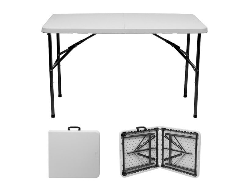 table d 39 appoint pliante interieur exterieur vente de toolland conforama. Black Bedroom Furniture Sets. Home Design Ideas