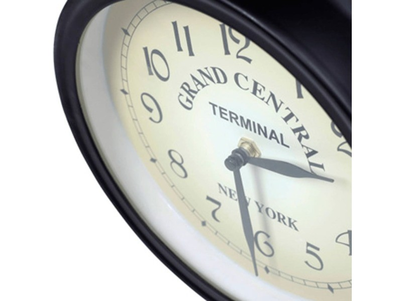 Vidaxl horloge murale double face 20 cm 30010