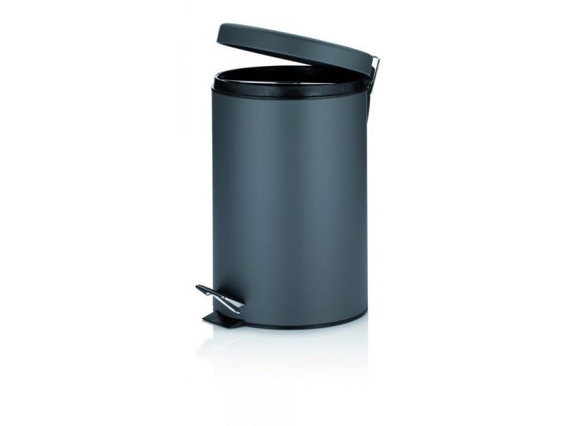 Kela poubelle 12 l mala gris foncé 10942