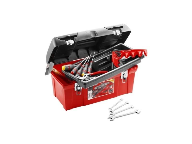 Caisse polypropylene 20 outils TBX1MPG