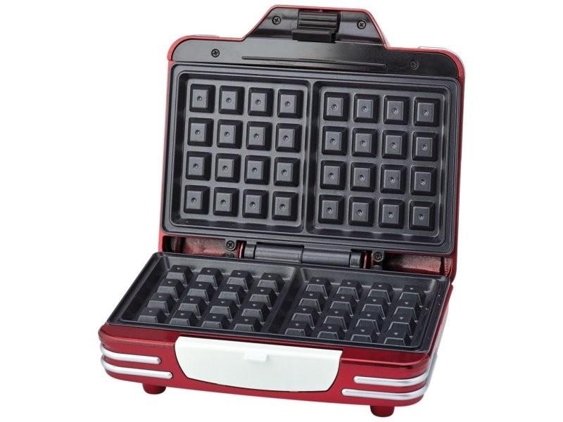 Gaufrier 700w rouge - 187 431468