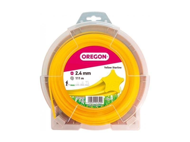 Fil etoile jaune 2.4mm 111m 545060