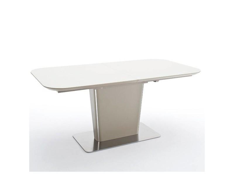 Table repas extensible design uma 180cm taupe 20100872017