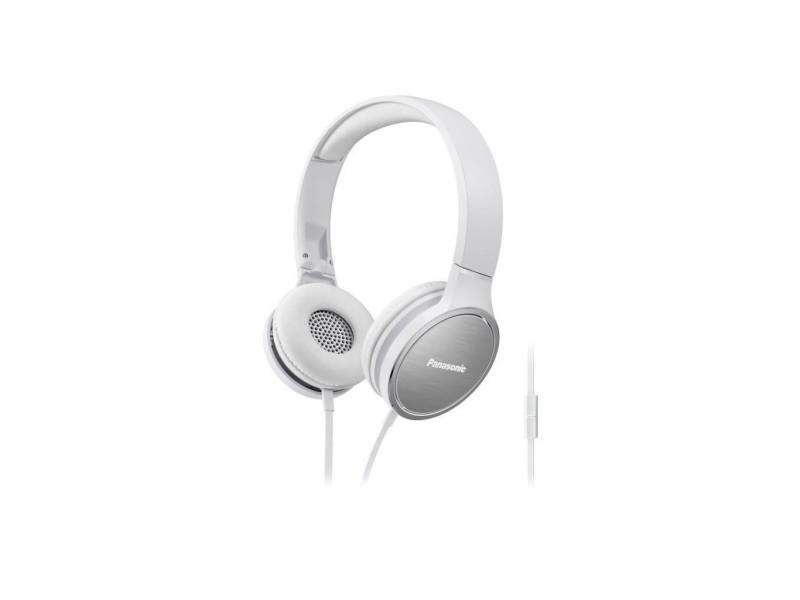 Panasonic rp-hf5me-w casque compact blanc