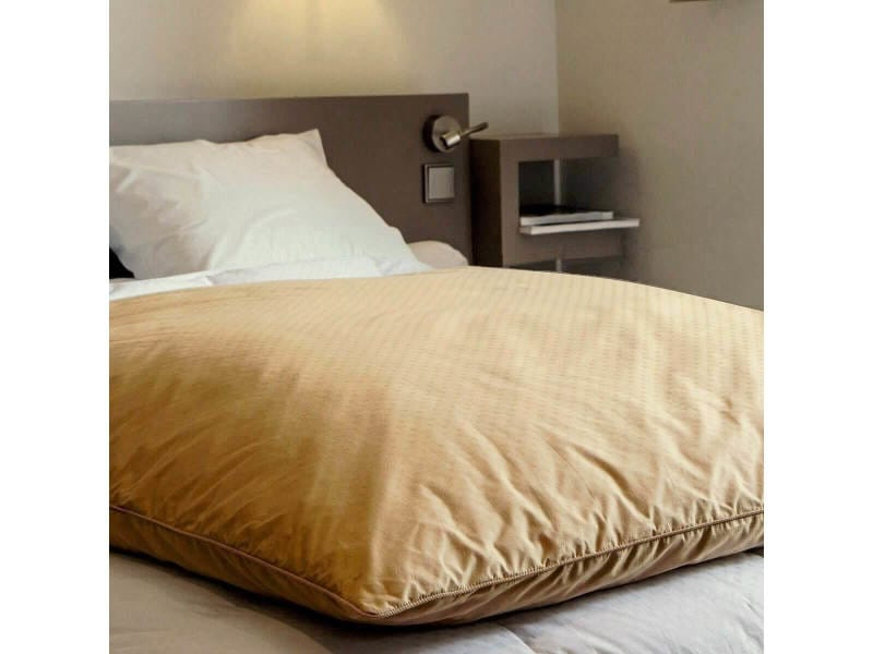 Édredon enfant en duvet coloris - beige dimension taille - 90x110 cm