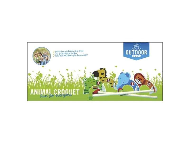 Outdoor play set de croquet 0713005 404980