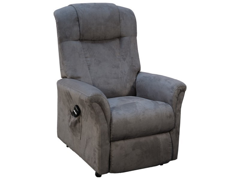 fauteuil releveur 2 moteurs gris liberty l 80 x l 80 158 x h 92 110 neuf vente de. Black Bedroom Furniture Sets. Home Design Ideas