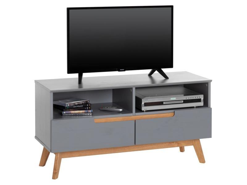 Meuble Tv Tibor Banc Télé De 109 Cm Au Style Scandinave Design