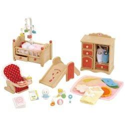 Sylvanian families - set chambre bébé