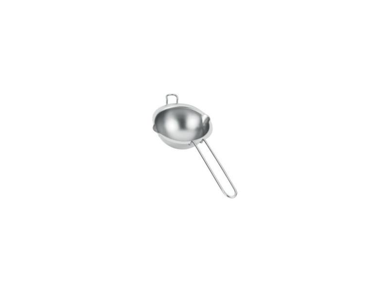 Metaltex bol pour bain-marie a poignée en inox - ø 14 cm