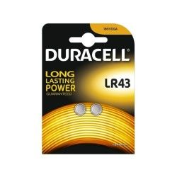 Duracell - blister 2 piles electronics lr43