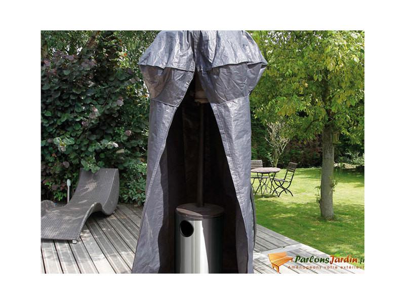 Housse de protection pour parasol chauffant
