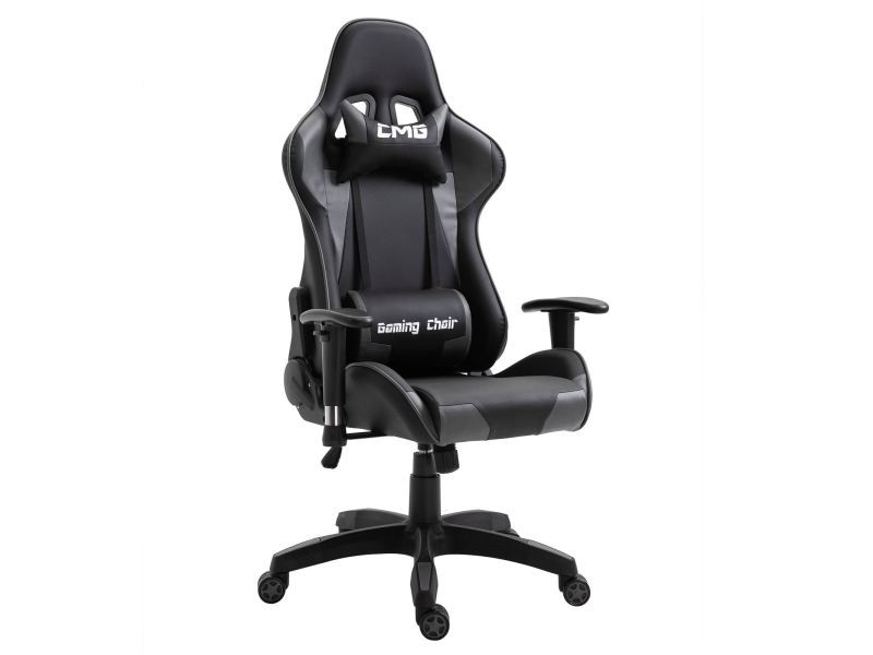 Chaise de bureau gaming fauteuil gamer chair style racing racer si ge rev tement synth tique - Fauteuil bureau gamer ...