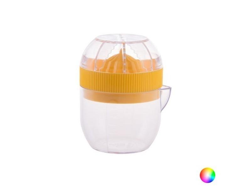 Presse-agrumes finition transparente (125 ml) - pour jus de fruit et jus d'orange couleur - orange