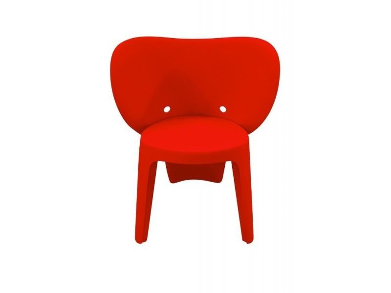 Chaise enfant rouge - elephanto rouge