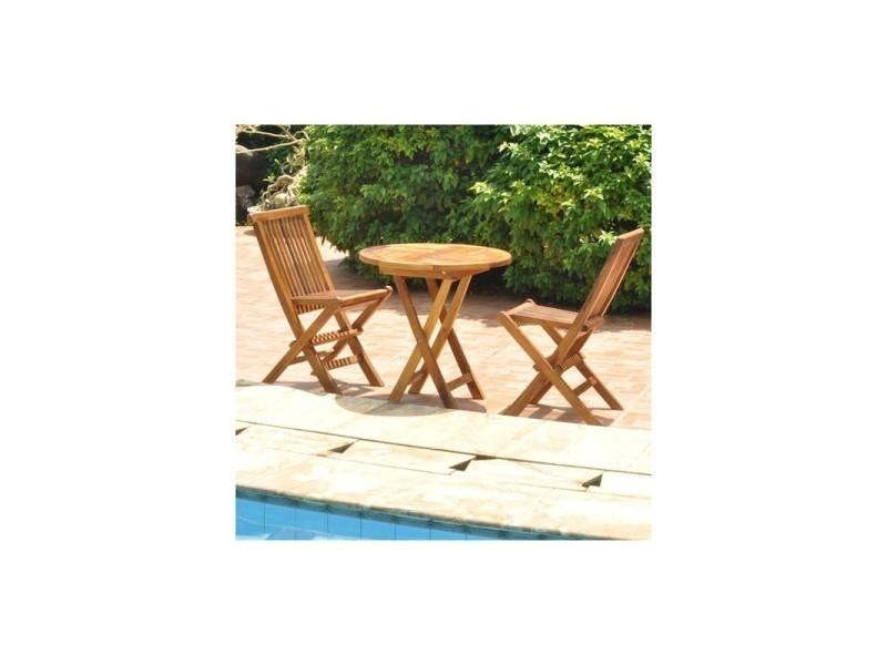 Salon de jardin en bois de teck pour enfant - Vente de Salon de ...