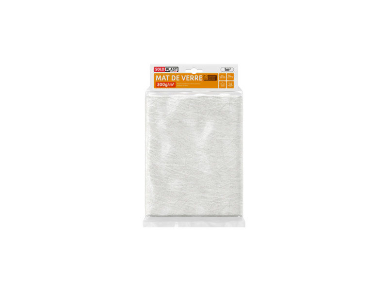 Mat de verre soloplast mat 300g m² 125237