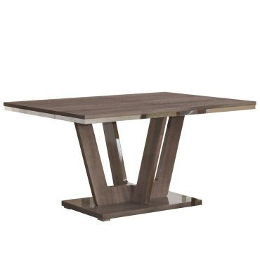varsha table de s jour rectangulaire pied central vente de altobuy conforama