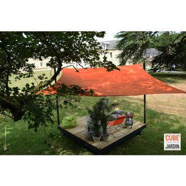 terrasse vente de cube de jardin conforama. Black Bedroom Furniture Sets. Home Design Ideas