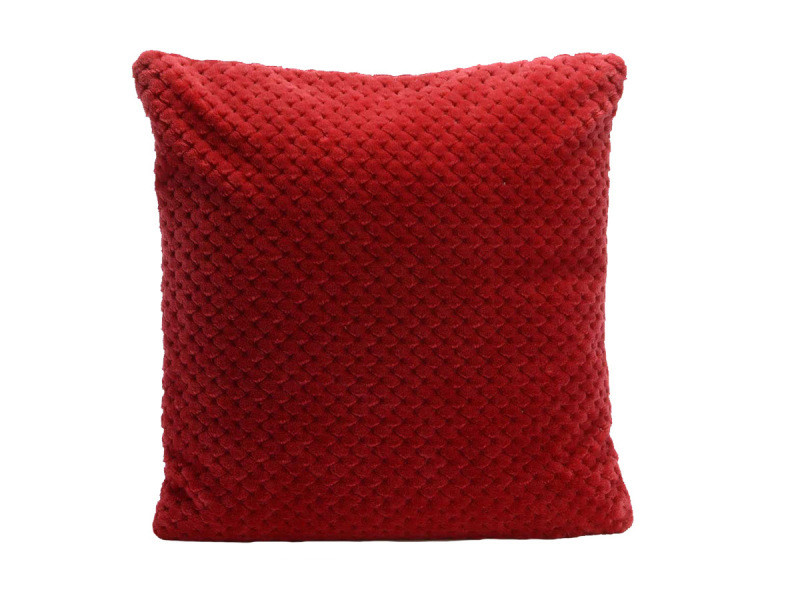 Amadeus Lot de housse+coussin en anthracite collection Damier 40x40 cm
