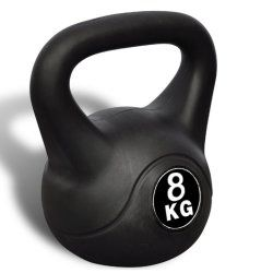 Kettlebell haltère poids musculation haltérophilie exercices gym 8 kg 0702043