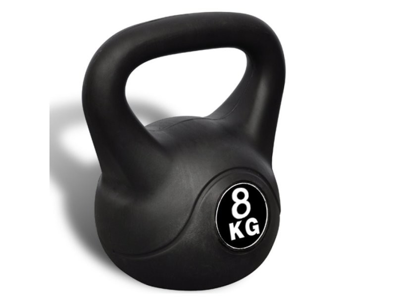 Kettlebell haltère poids musculation haltérophilie exercices gym 8 kg helloshop26 0702043