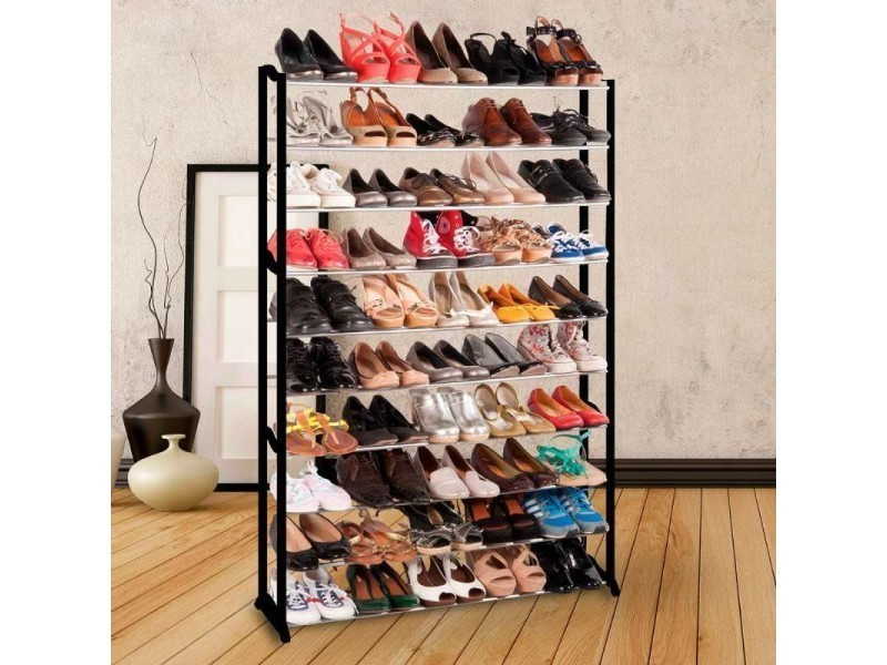 etag re chaussures pour 50 paires vente de meuble chaussures conforama. Black Bedroom Furniture Sets. Home Design Ideas