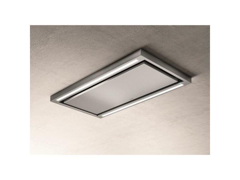 Hotte de plafond elica prf0142094 cloud seven ix / a / 90 - 760 m3 air / h max - 3 vitesses - l 90 cm - PRF0142094
