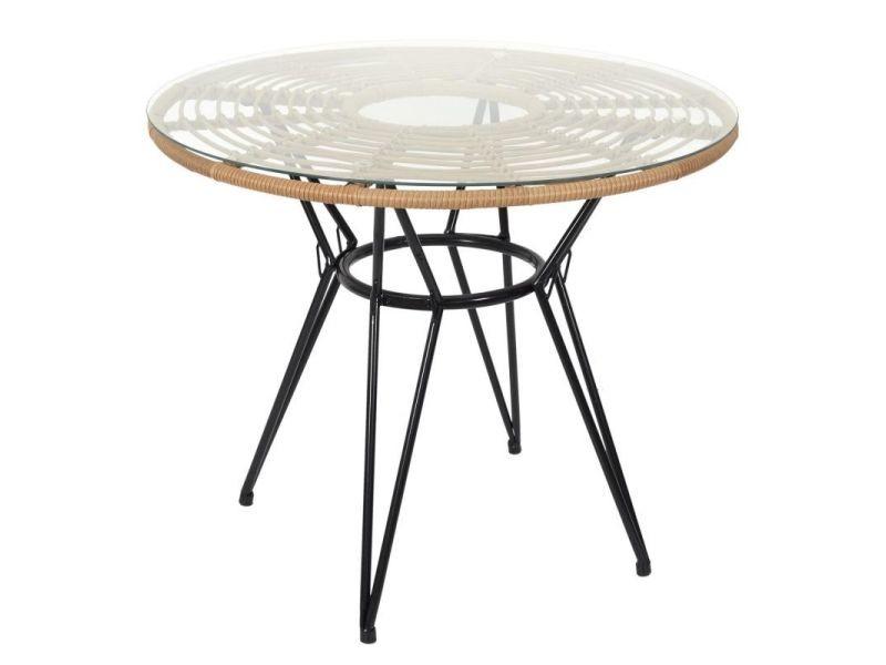 Paris prix - table de jardin ronde \