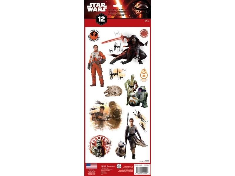 Star wars episode vii - stickers repositionnables géants star wars episode vii