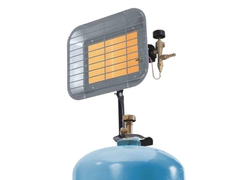 Chauffage céramique radiant pour bouteille de gaz 4000w