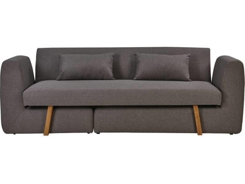 canap modulable convertible compilo 2 places gris clair vente de habitat et jardin. Black Bedroom Furniture Sets. Home Design Ideas