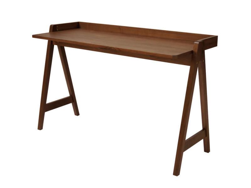 Bureau en bois placage noyer l cm moh vente de bureau