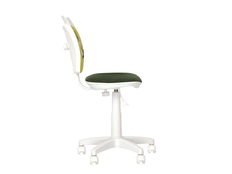 Ministyle white zebre chaise de bureau pour enfant. En