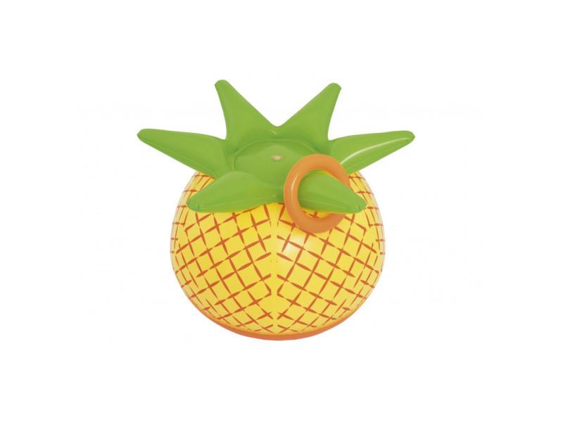 Fontaine à eau - ananas - l 81 cm x l 76 cm x h 64 cm - jaune
