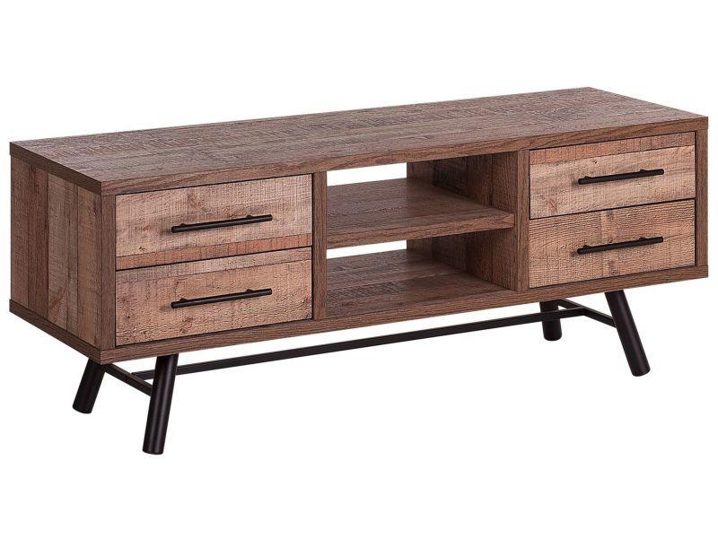 Meuble tv en bois foncé atlanta 179252