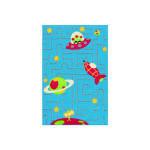 Tapis pour enfant motifs espace, 100 cm x 150 cm -pegane-