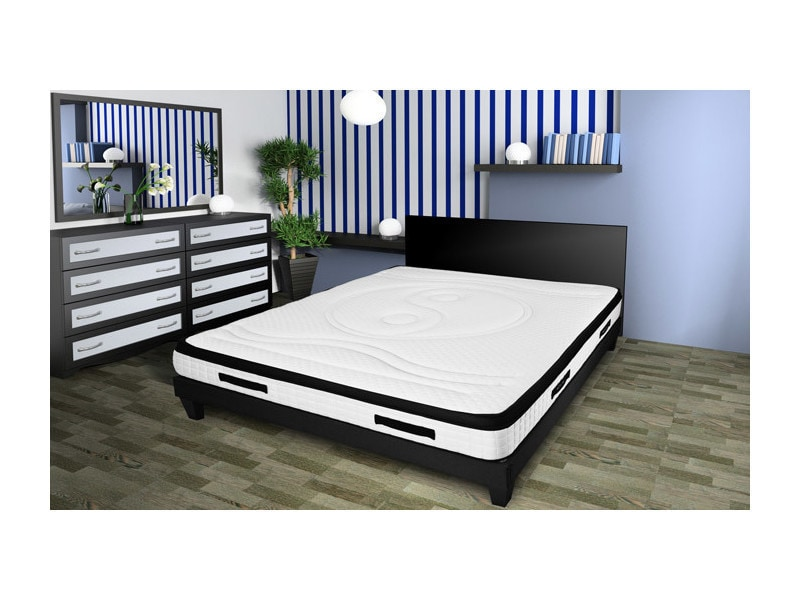 matelas hypnos 90x190 m moire de forme 24 cm vente. Black Bedroom Furniture Sets. Home Design Ideas