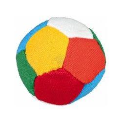 Ballon foot doux, ø 6 cm, coloré - 3470 -  ballon foot doux, ø 6 cm, coloré - 3470