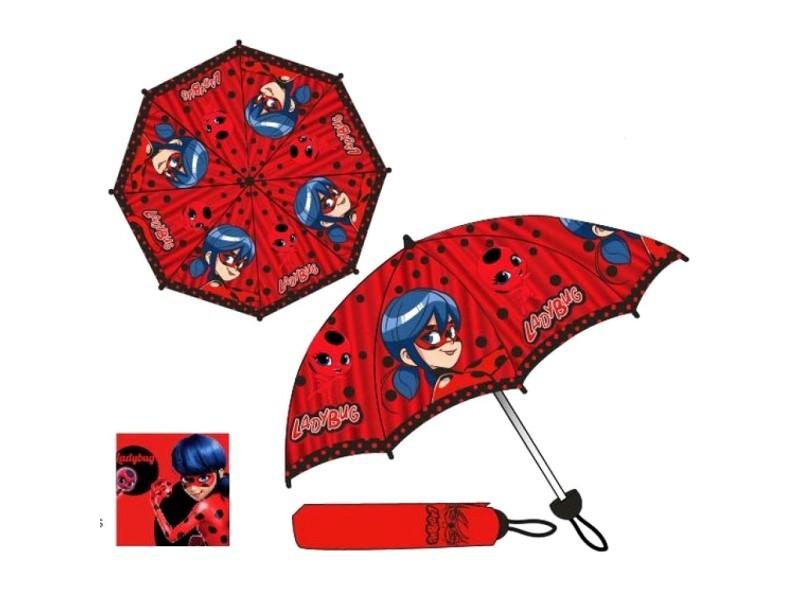 Parapluie miraculous ladybug enfant pliant compact