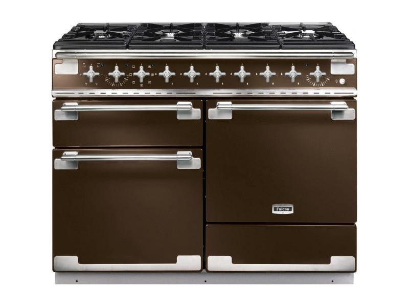 Falcon elise 110 - cuisinière - pose libre - 110 cm - chocolat ...