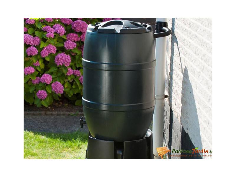 Nature récupérateur d'eau de pluie 120 l 51x81 cm vert 423514