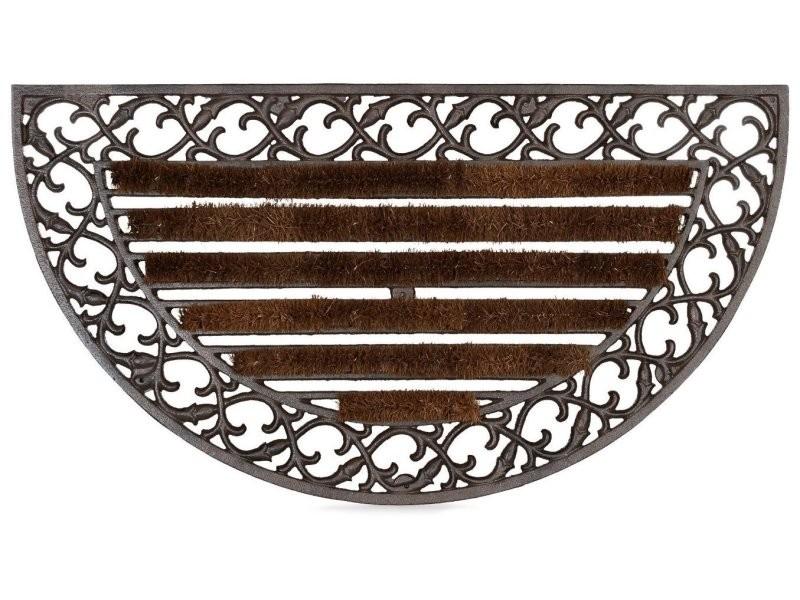 Paillasson tapis porte d'entrée essuie-pieds fonte 72 x 39 cm helloshop26 2013037