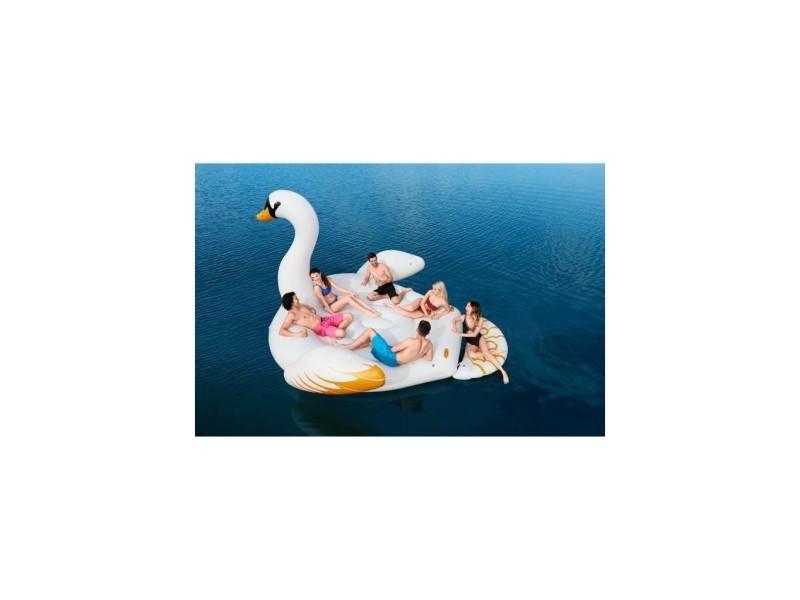 Bouée géante cygne - île flottante 6 personnes - 429 x 330 cm 428984