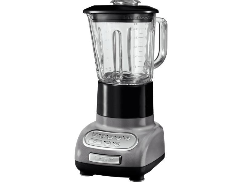 Blender mixeur électrique de 1,5l 550w gris étain
